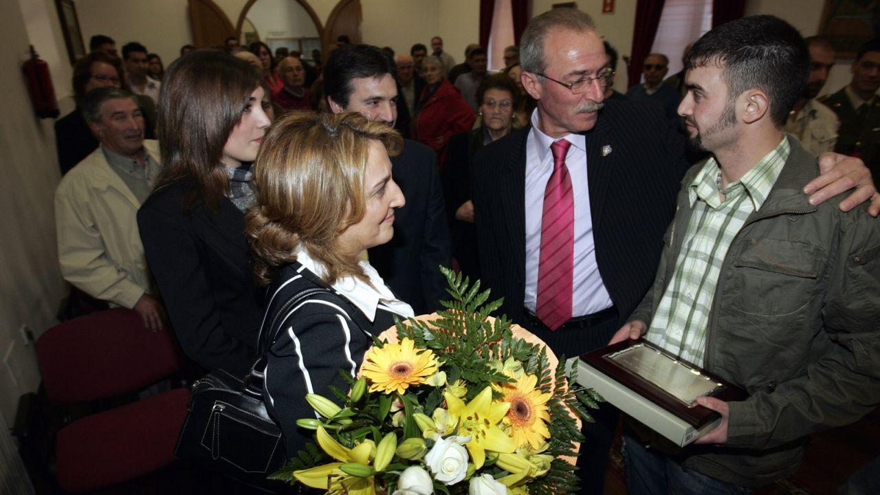 Campeonato de tiro, en Cernadiñas Novas, por el aniversario de la Guardia Civil