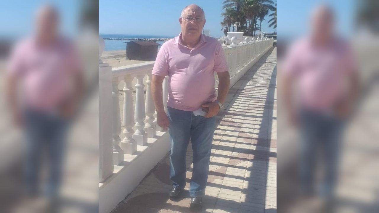 Miguel Rodríguez, en Garrucha, Almería