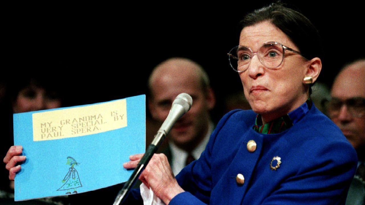 La jueza Ruth Bader Ginsburg, en una imagen de archivo