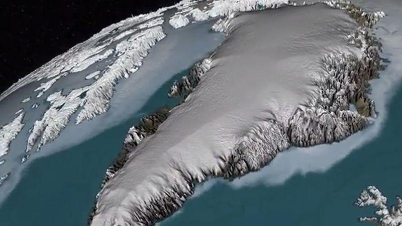 ¿Cuántos años tiene el hielo de Groenlandia?.Los peregrinos que se alojan en el albergue de A Portela dejan dedicatorias en el libro de visitas.