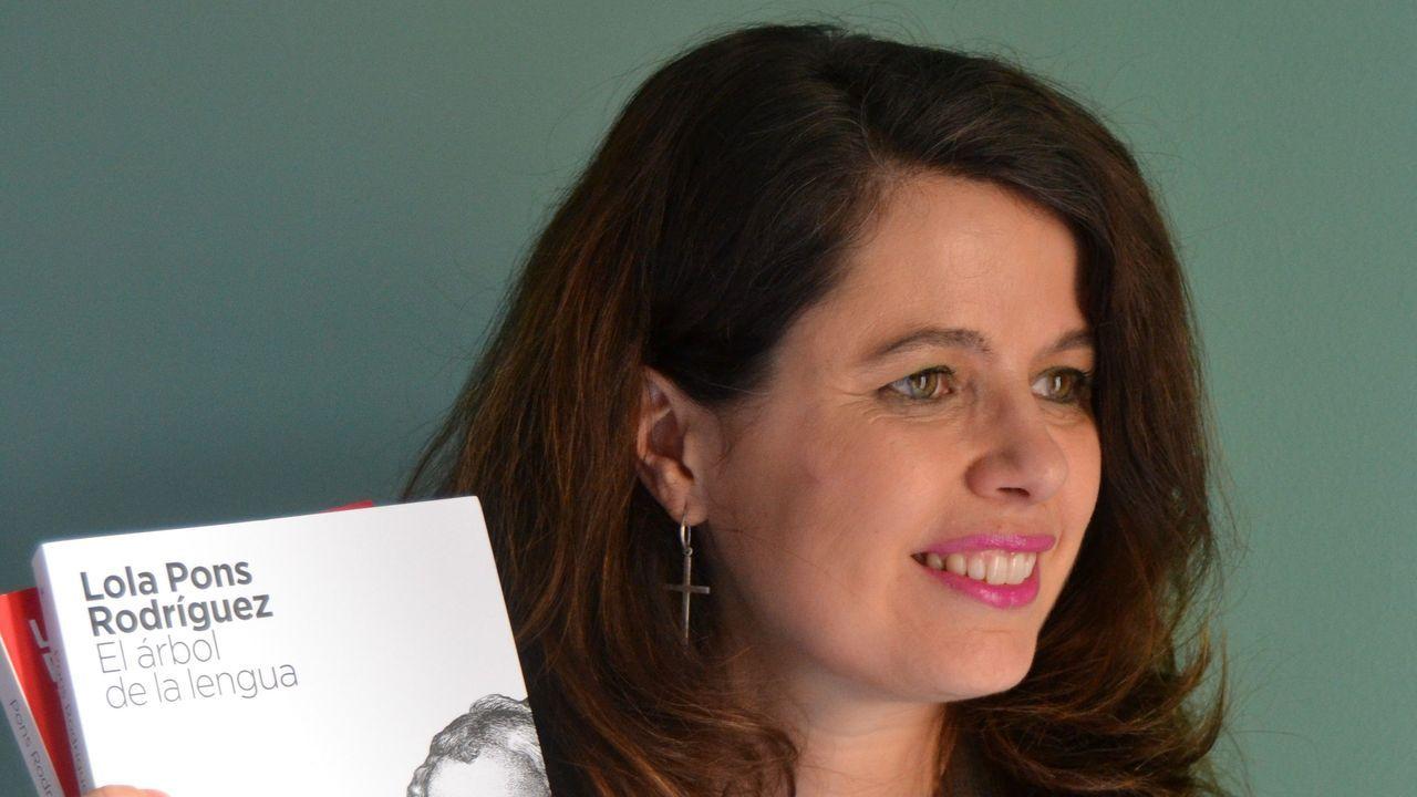 berna.Lola Pons, autora de «El árbol de la lengua», que nos saca los colores y los prejuicios lingüísticos