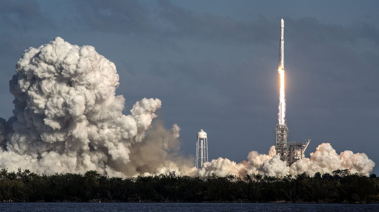 Así fue el lanzamiento del «Falcon Heavy».Emmanuelle Charpentiery Jennifer Doudna