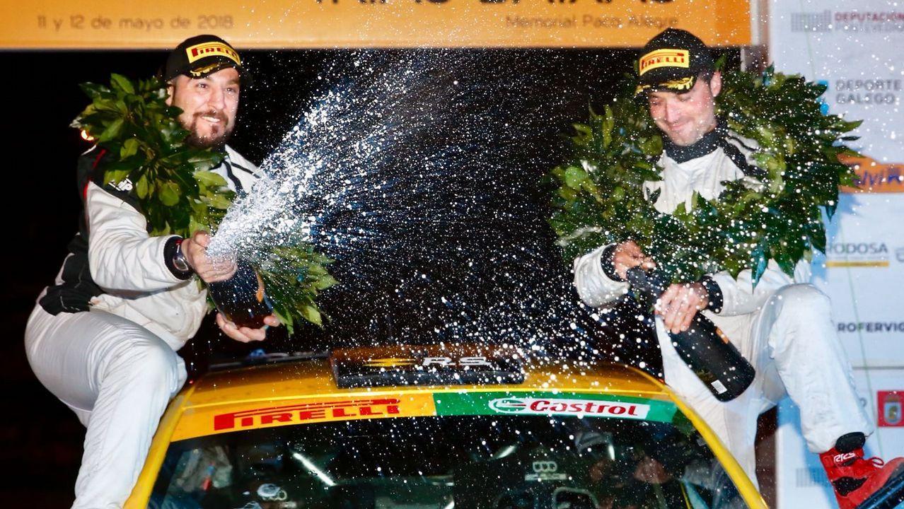 La tierra tiembla en Arzúa con el Nacional de ralis.Álvaro Pérez, Francisco Dorado y Roberto Blach debutan en Portugal en la máxima competición con la Peugeot Rally Cup Ibérica
