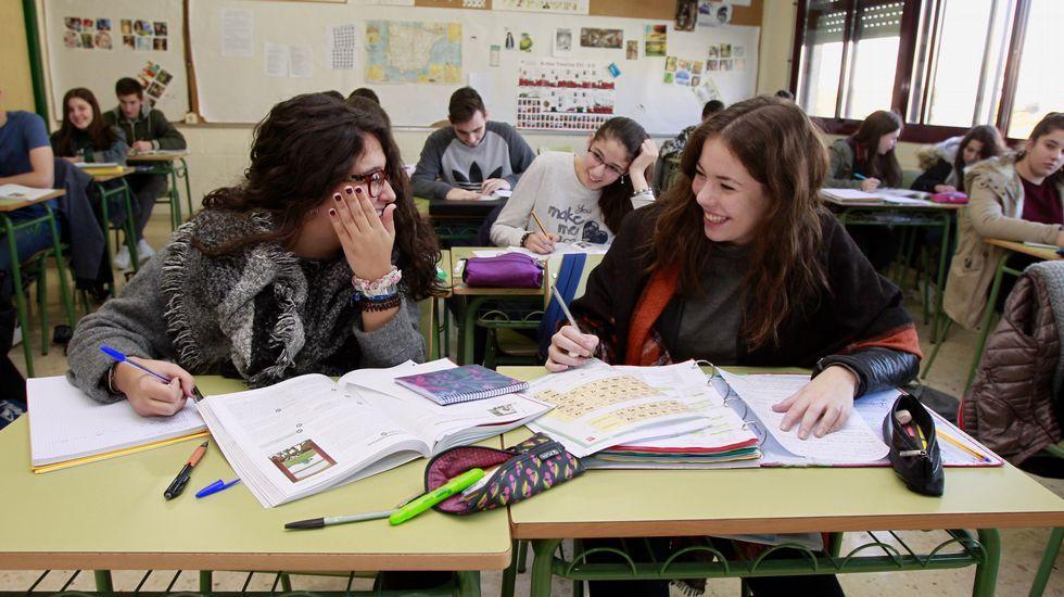 revalidah.Los alumnos que participaron en el último informe PISA cursan hoy segundo de bachillerato.