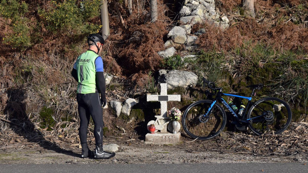 Accidente mortal de un ciclista en 2016