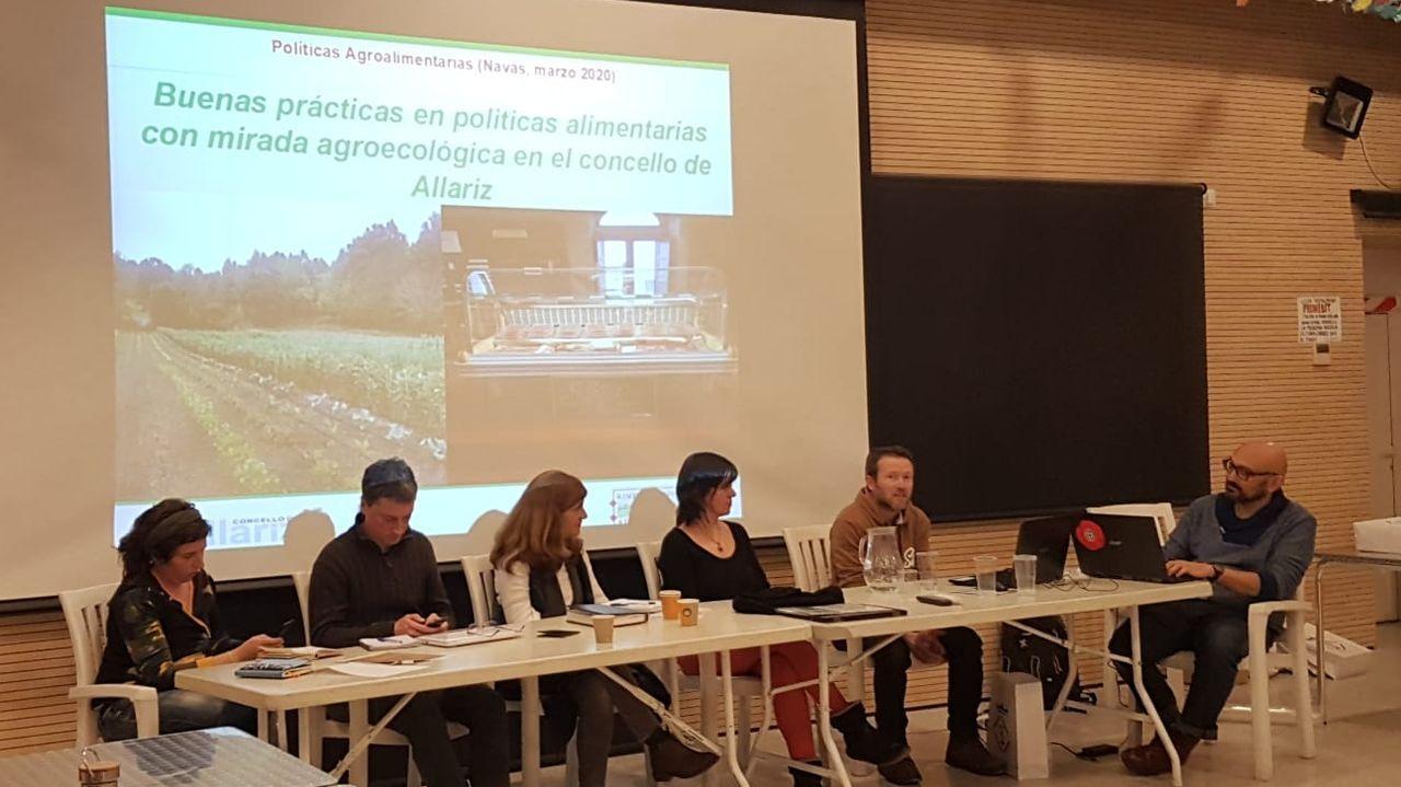 En el seminario, el Concello de Allariz estuvo representado por el técnico Xosé Romero