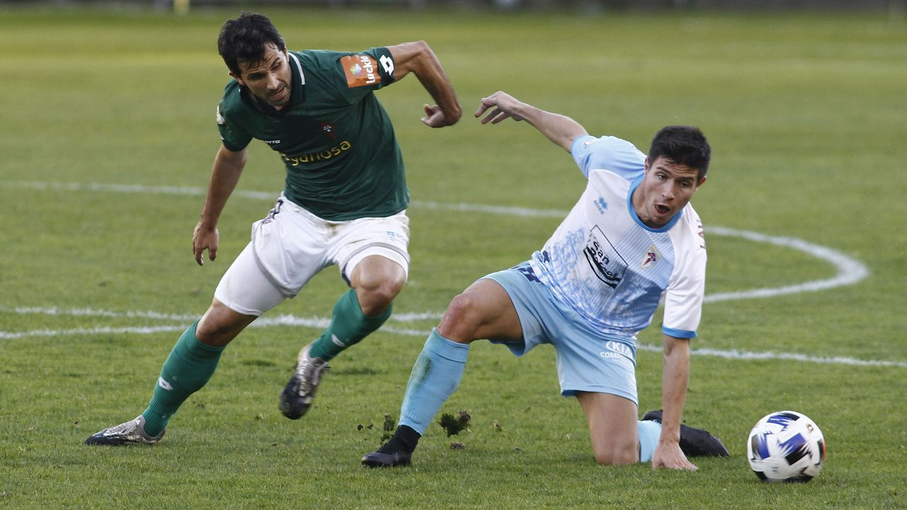 Todas las imágenes del Guijuelo-Deportivo.Sergio Egea en Riazor