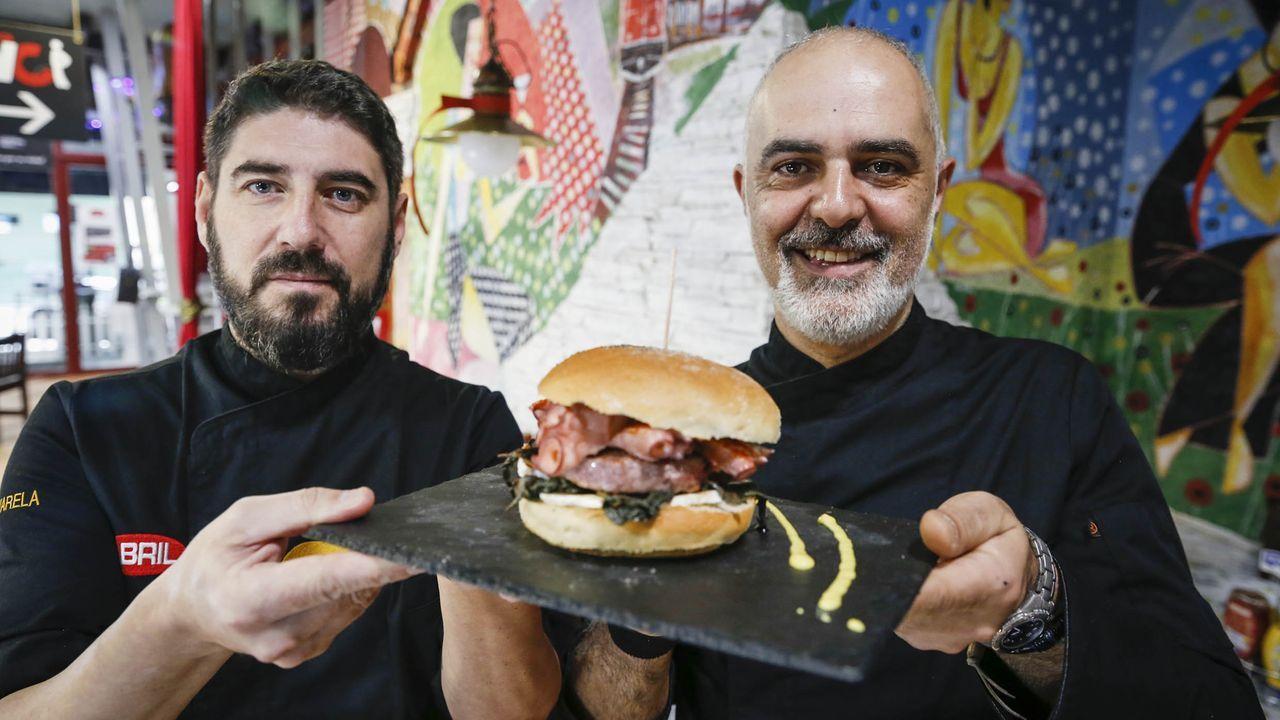 Lucas Fernández, propietario del restaurante Alcorte.
