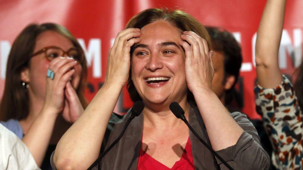 Ada Colau: «Sí se podía».La sesión de constitución del gobierno autónomo de Ceuta se desarrolló sin incidentes, pese a la minoría del PP