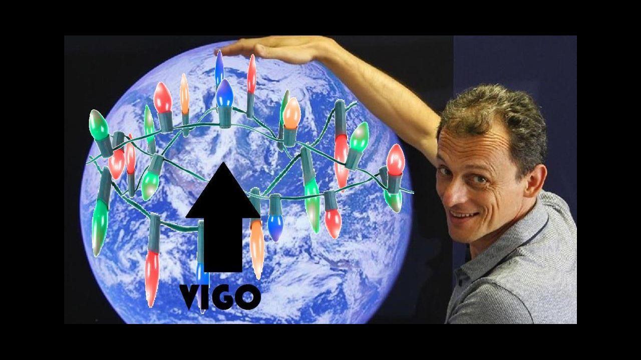 En 2018 también se popularizaron los memes sobre las luces de Vigo