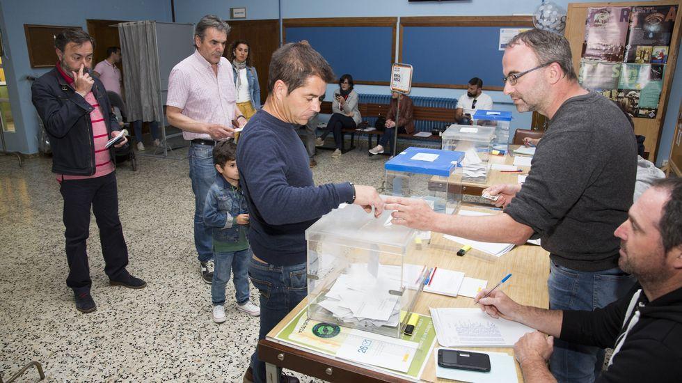 Jornada de elecciones.
