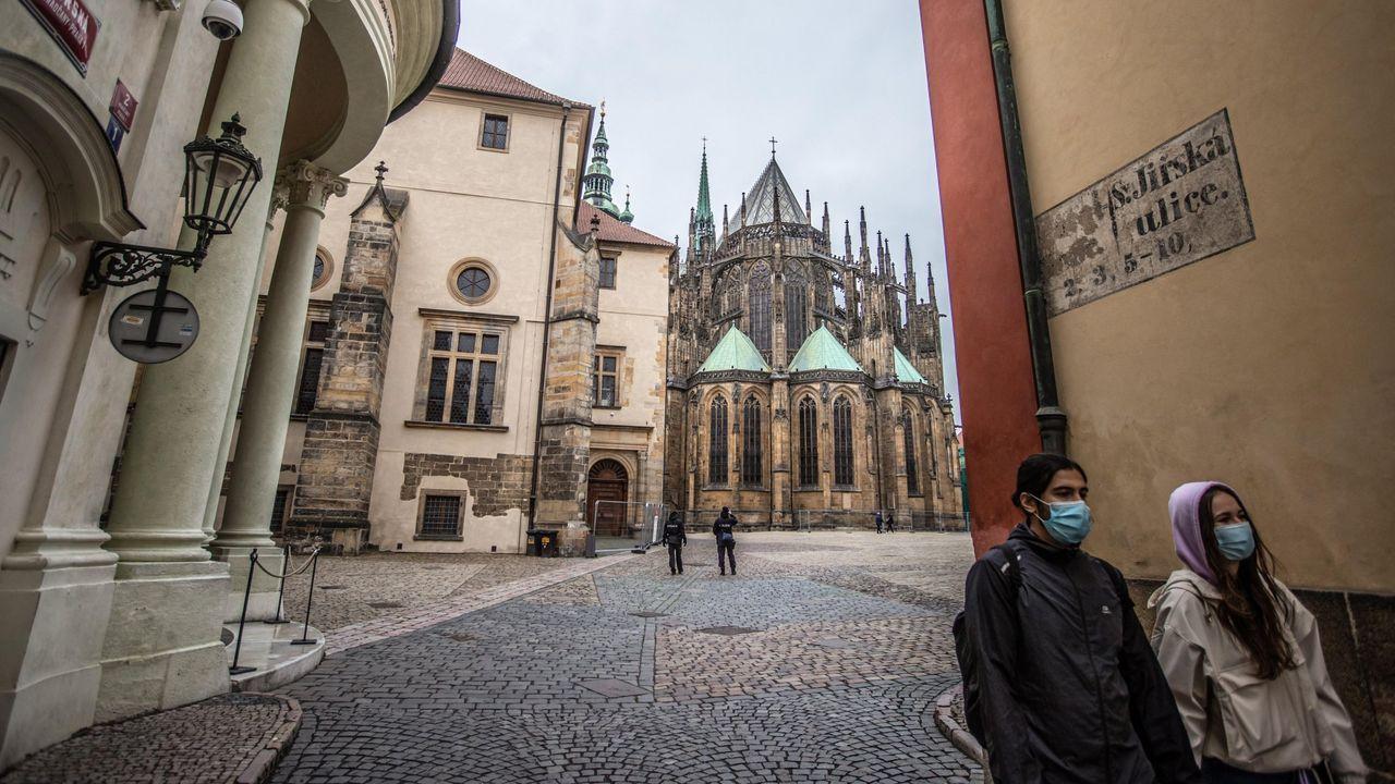 La República Checa ha reabierto hoy sus fronteras con Alemania, Austria y Hungría