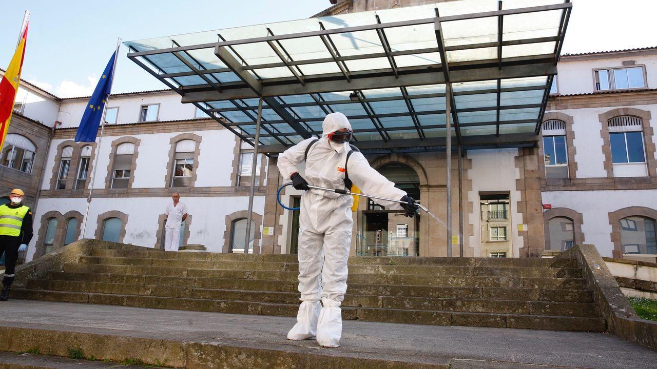 Pontevedraasume el confinamiento.Rueda de prensa por Skype del alcalde de Pontevedra, Miguel Anxo Fernández Lores