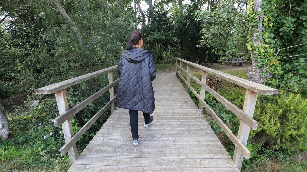 Paseo fluvial de Baio
