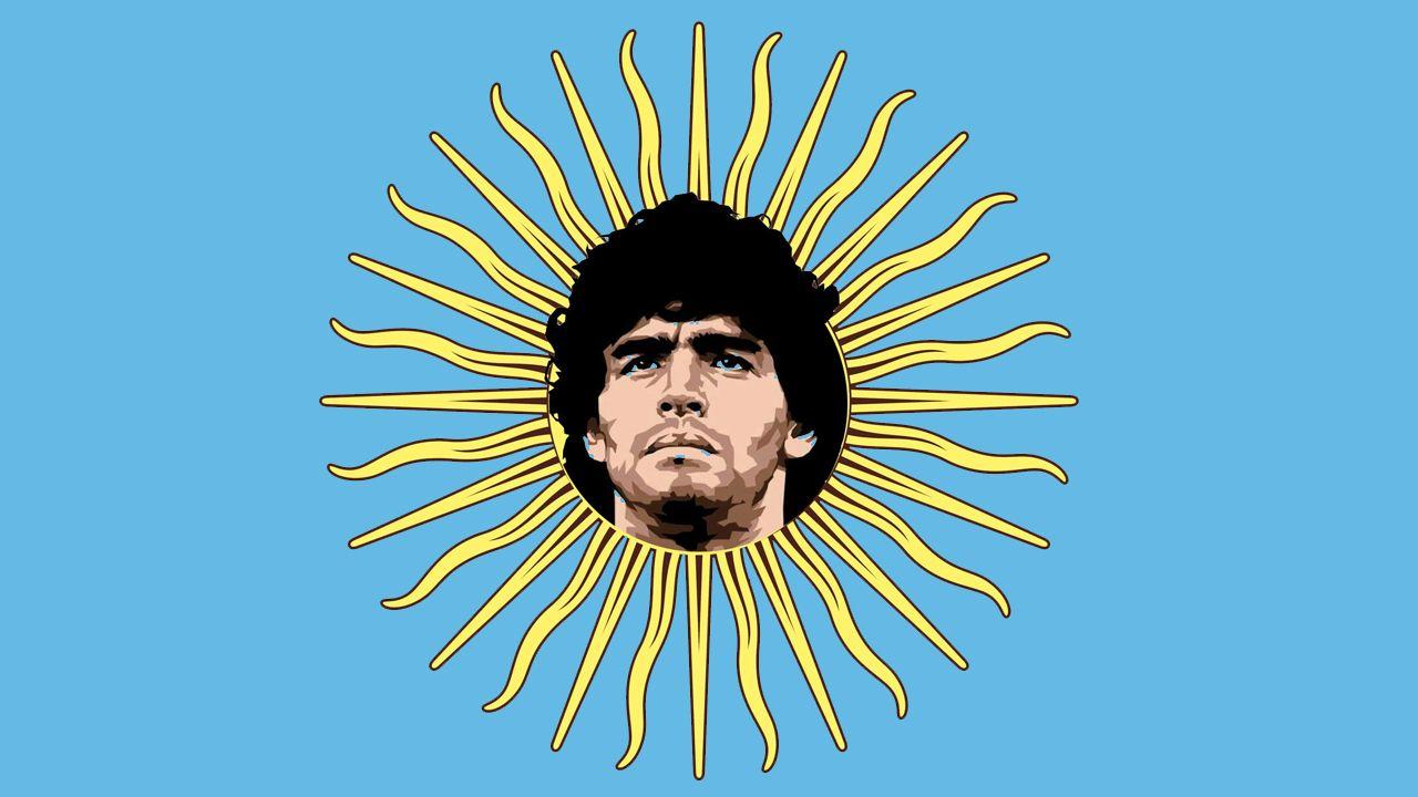 romero.Maradona aprovechó su visita a Venezuela para honrar la tumba de Hugo Chávez.«Me da un placer enorme poder venir a verte», dijo  al depositar la ofrenda.
