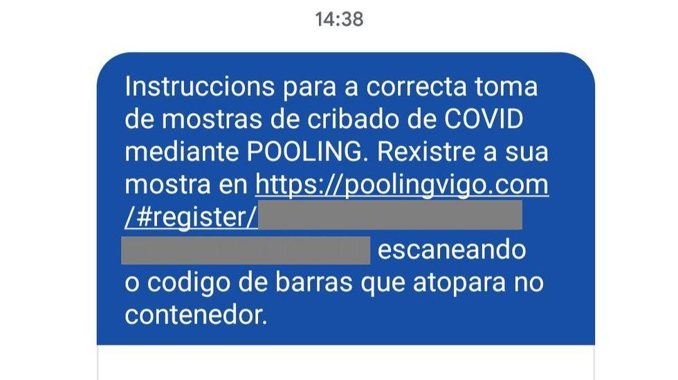Las fotos del San Blas de la pandemia.Este es el mensaje enviado este martes a los seleccionados para el cribado entre 4.500 personas en Monforte