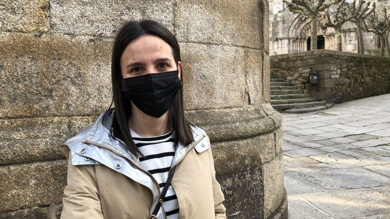 Lucía Fonte, vecina de la Ciudad Vieja desde hace 17 años: «La suciedad de las paredes era lo que daba más sensación de dejadez, aunque el suelo esté impoluto»