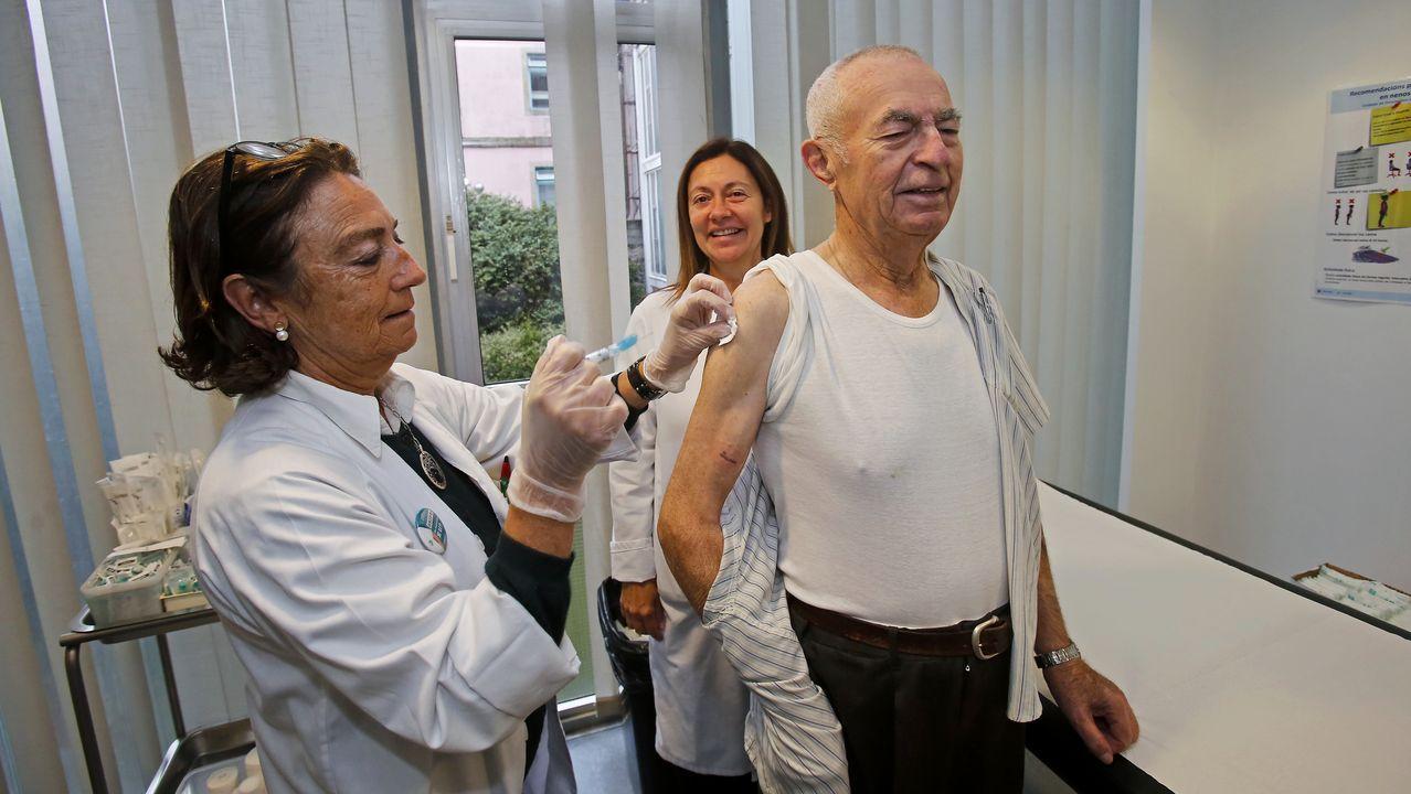 Más de 14.000 pacientes, apuntados ya para vacunarse contra la gripe en el área de Vigo.Vista del Hospital Universitario Central de Asturias (HUCA)
