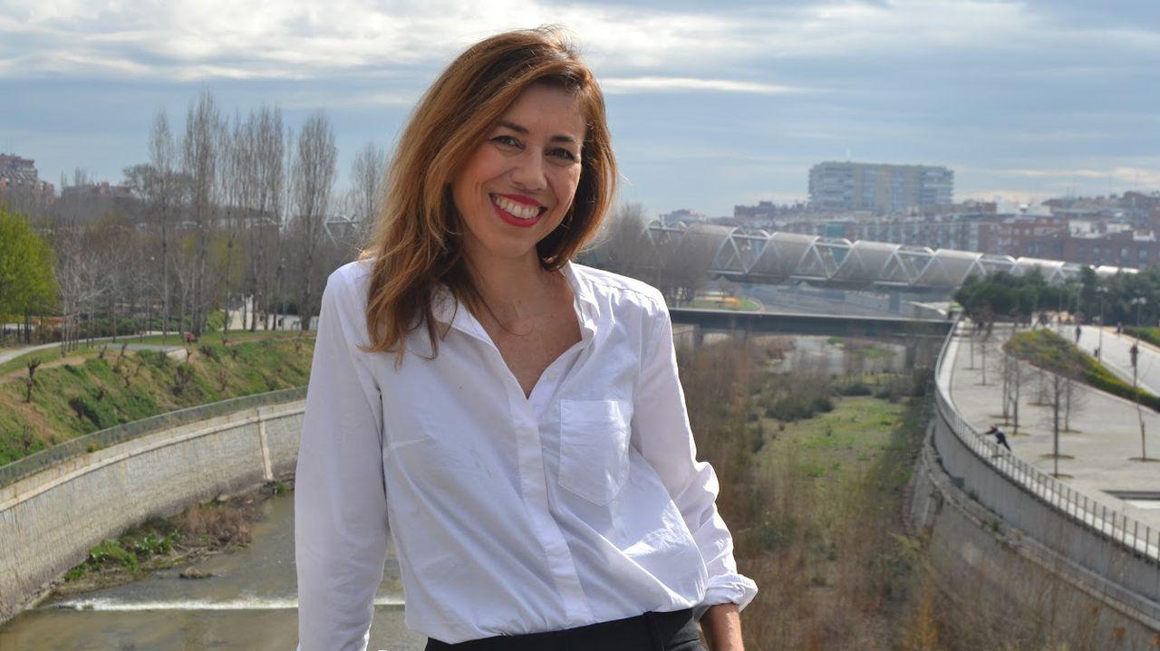 Elsa Veiga, autora de «Me desperté con dos inviernos a los lados»