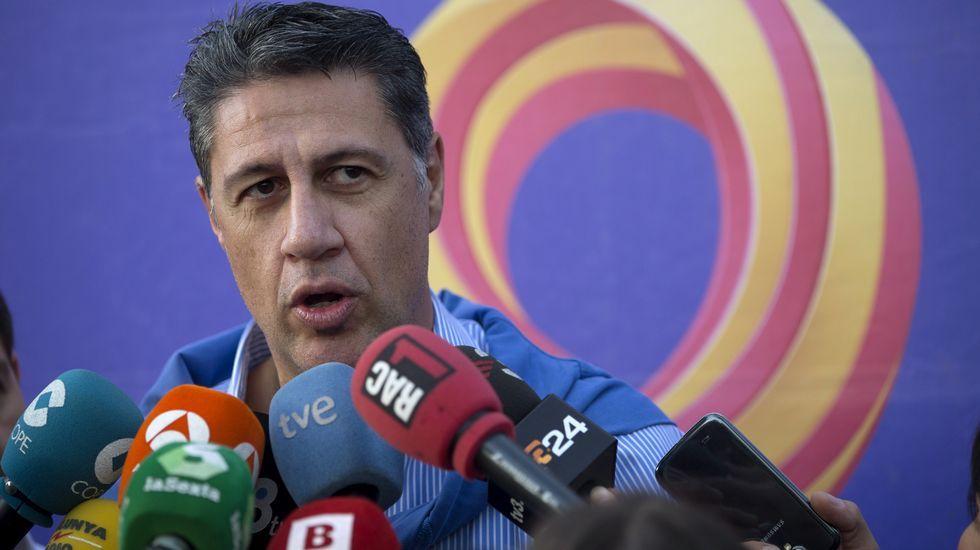 El líder del PP de Cataluñan Xavier García Albiol