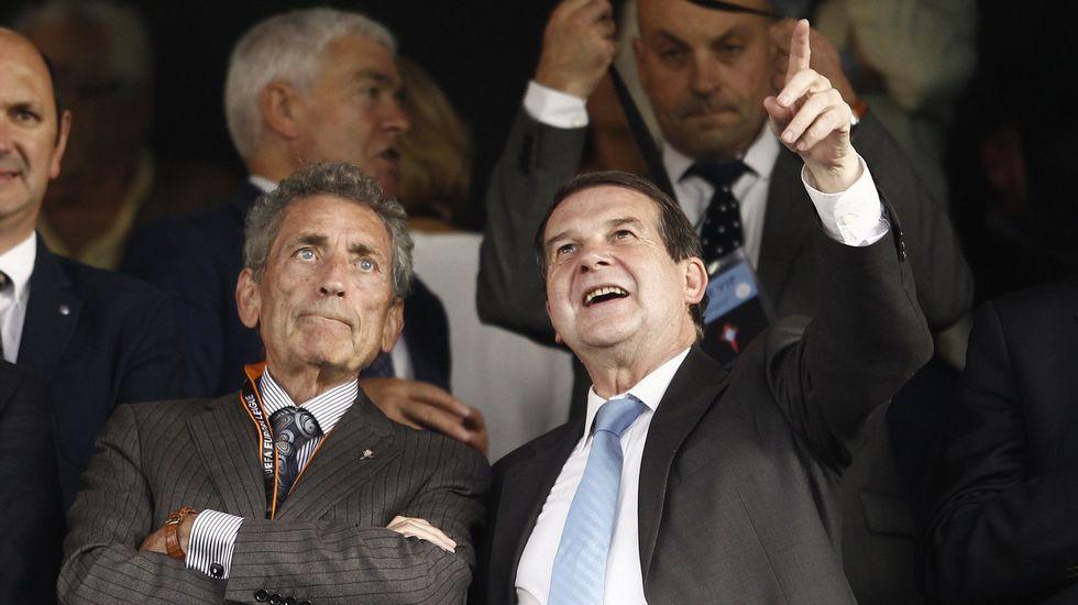 «Hemos tomado la decisión de que el Celta se marche de Vigo de manera irreversible»