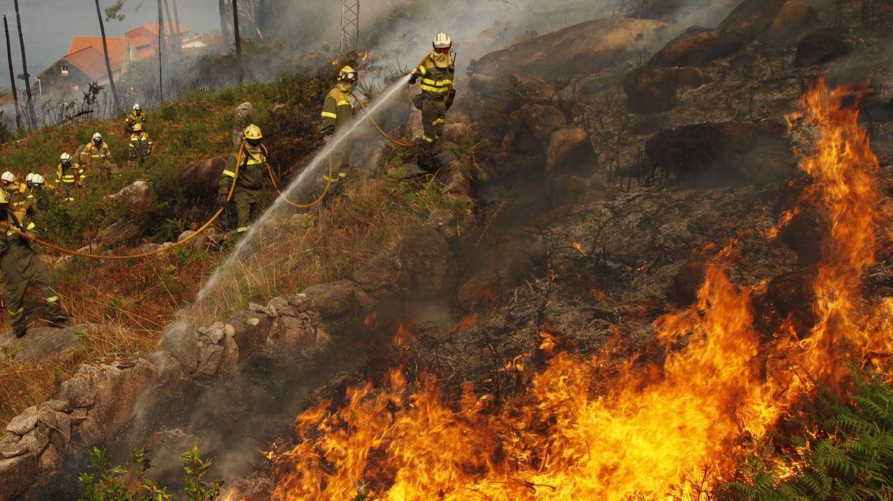 El del monte Pindo fue el incendio más devastador de los últimos años en Barbanza