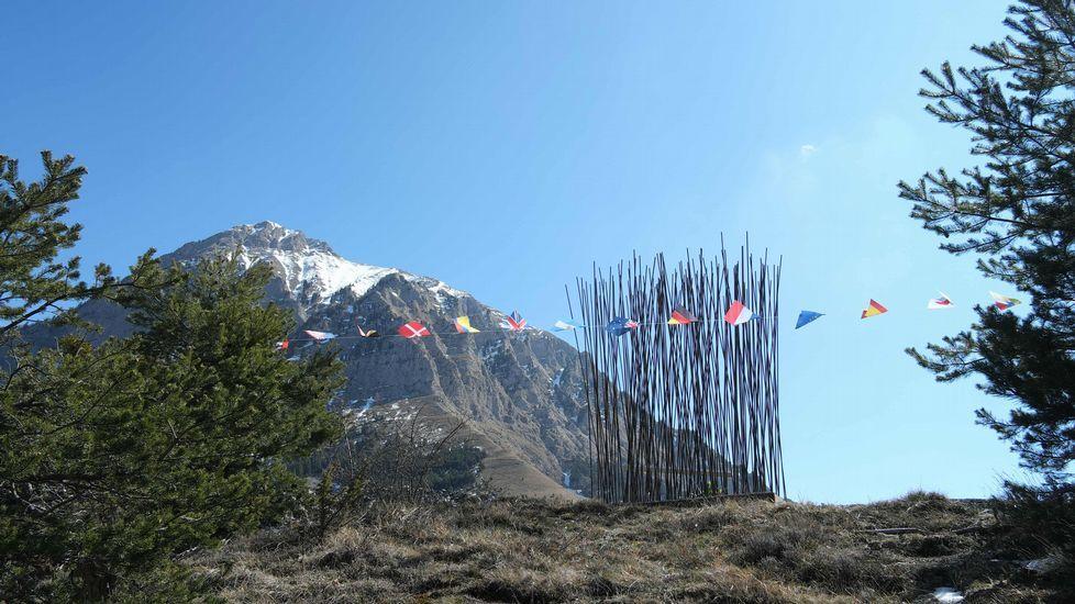 Zona de los Alpes franceses en donde se estrelló el vuelo de Germanwings el pasado año.