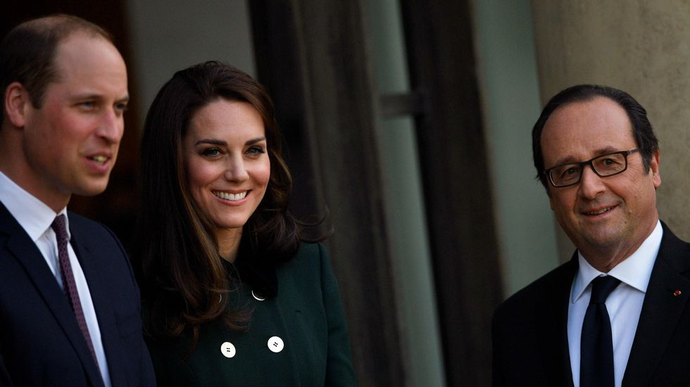 La visita de los duques de Cambridge en París, en fotos