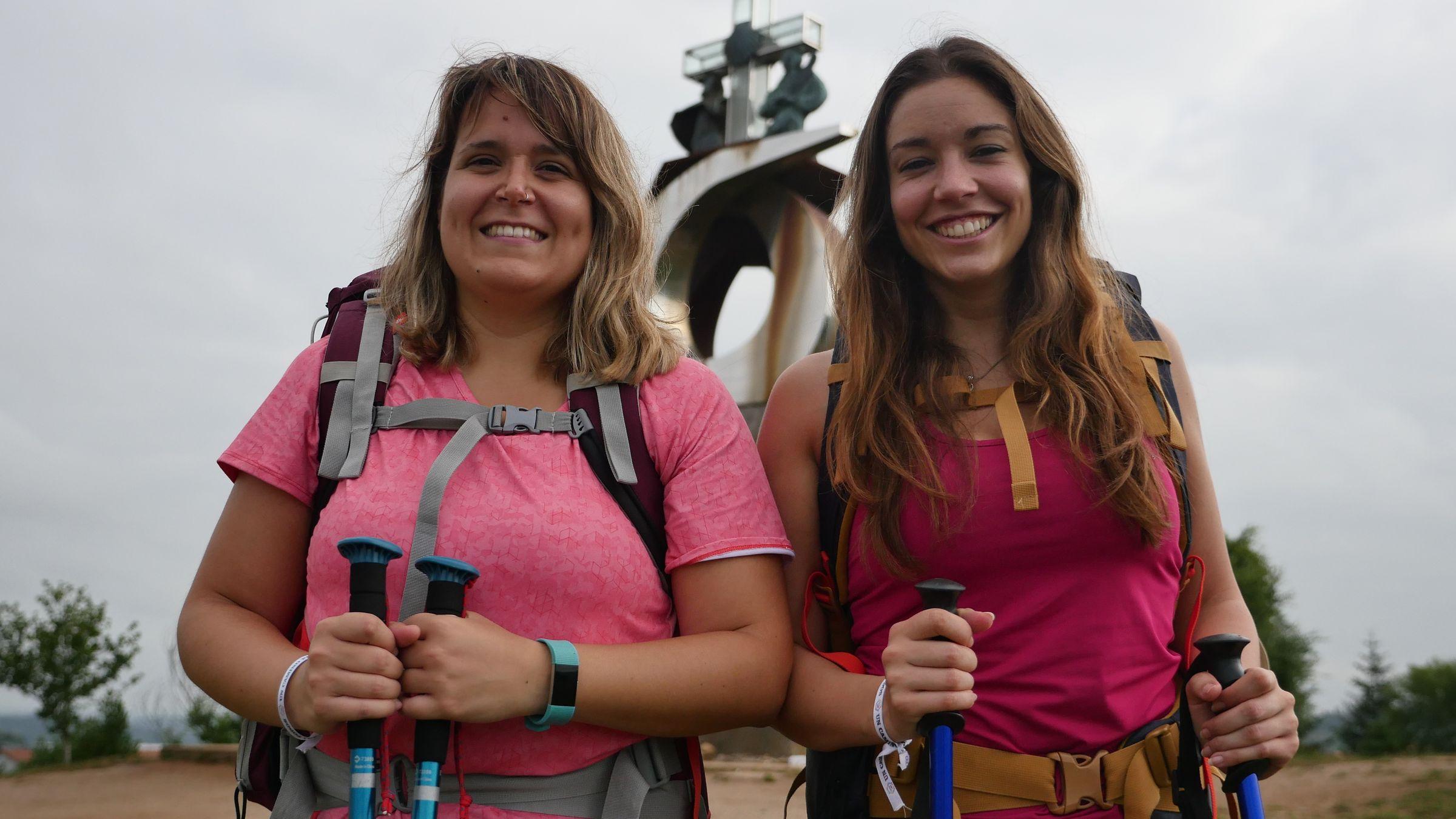 En el Monte do Gozo se percibe claramente que la aventura está a punto de terminar