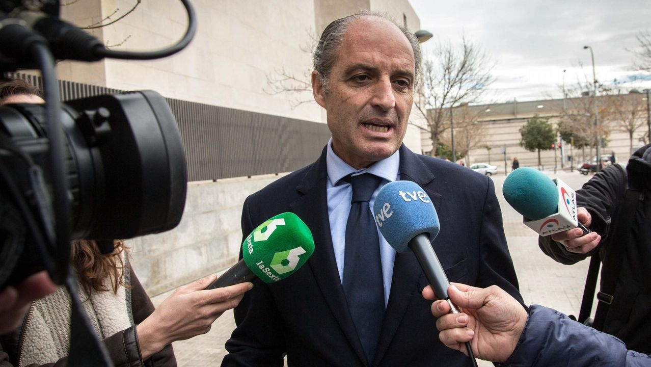 El expresidente de la Generalitat valenciana, Francisco Camps