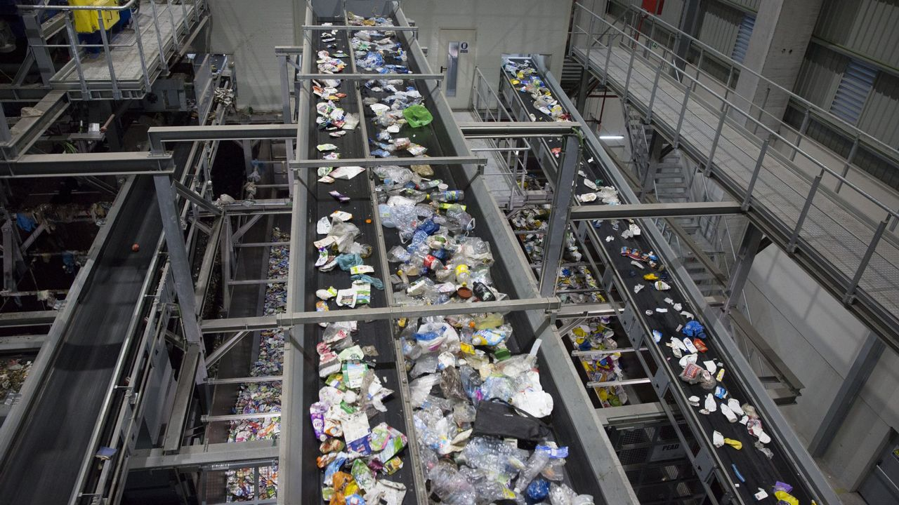 Planta de tratamiento de residuos de Sogama