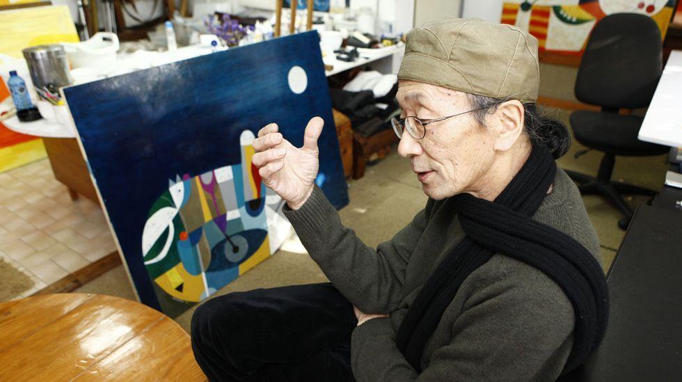 El homenaje de Muxía a Yoshiro Tachibana, en imágenes