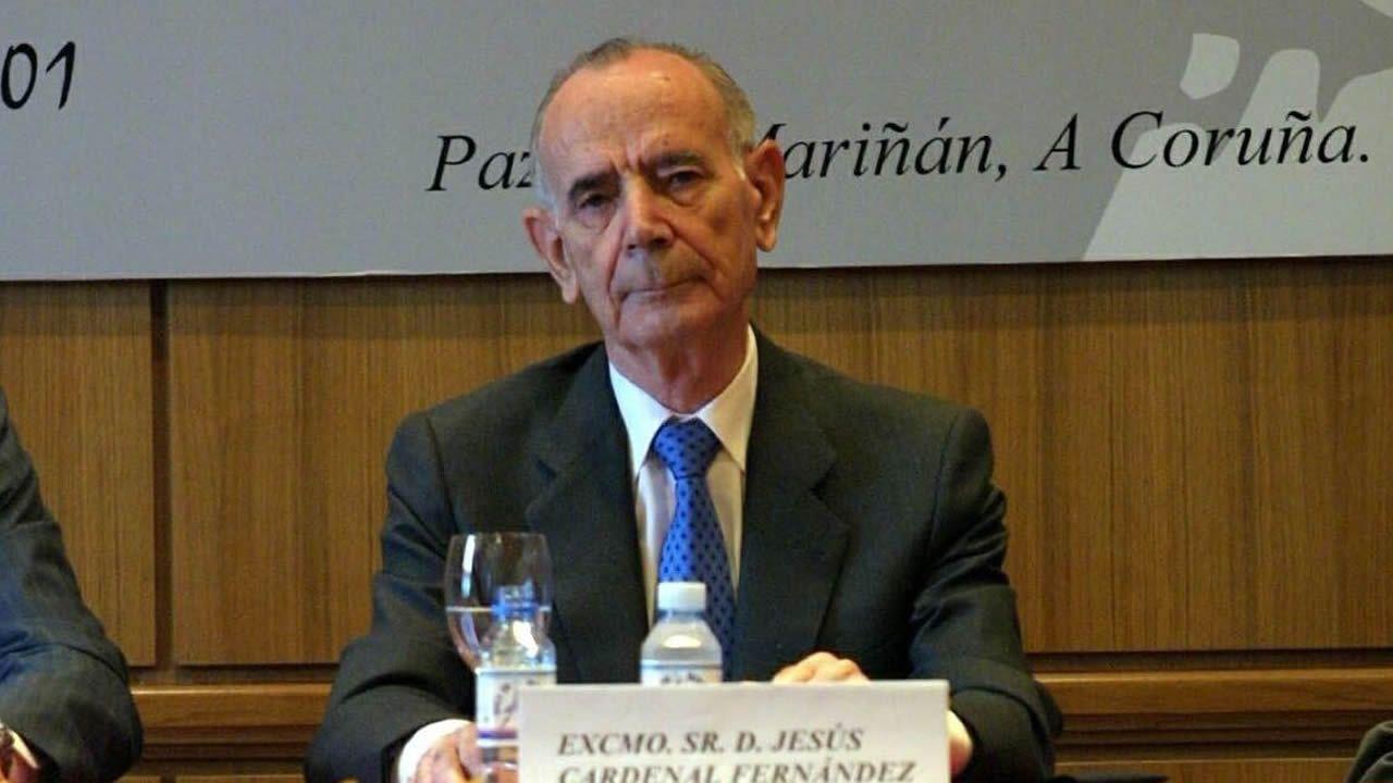Imagen de Jesús Cardenal en A Coruña en 2002
