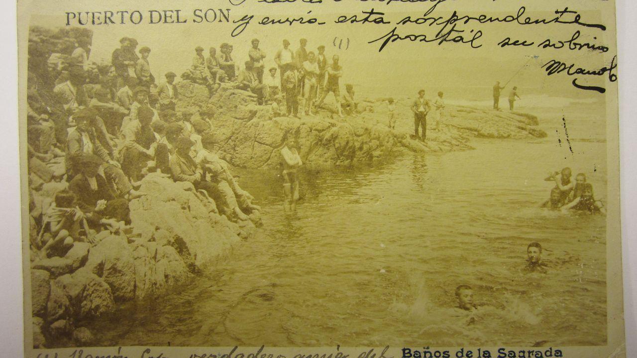 Las imágenes del Poio Pescamar Roldan.La escalada de casos en Cuntis - en la imagen el centro de salud - preocupa a las autoridades