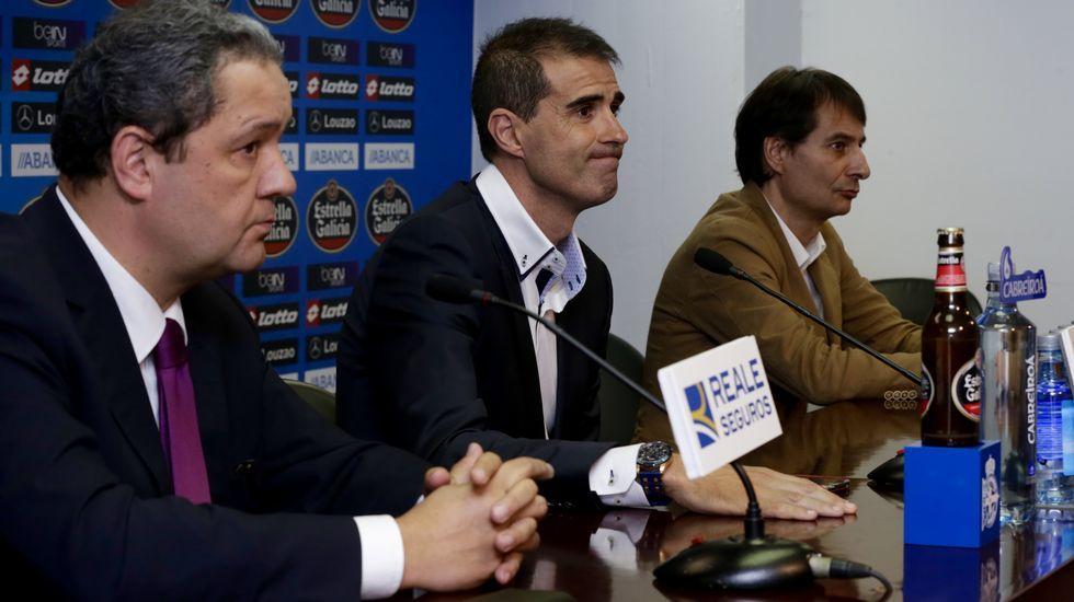 Rubén y Bruno Gama ya ejercen de blanquiazules