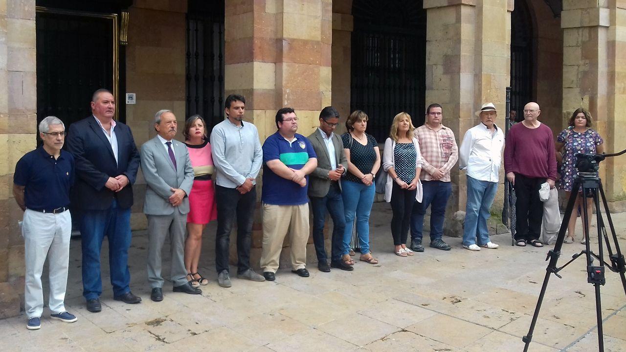 Los concejos recuerdan a Ardines.Dolores Carcedo