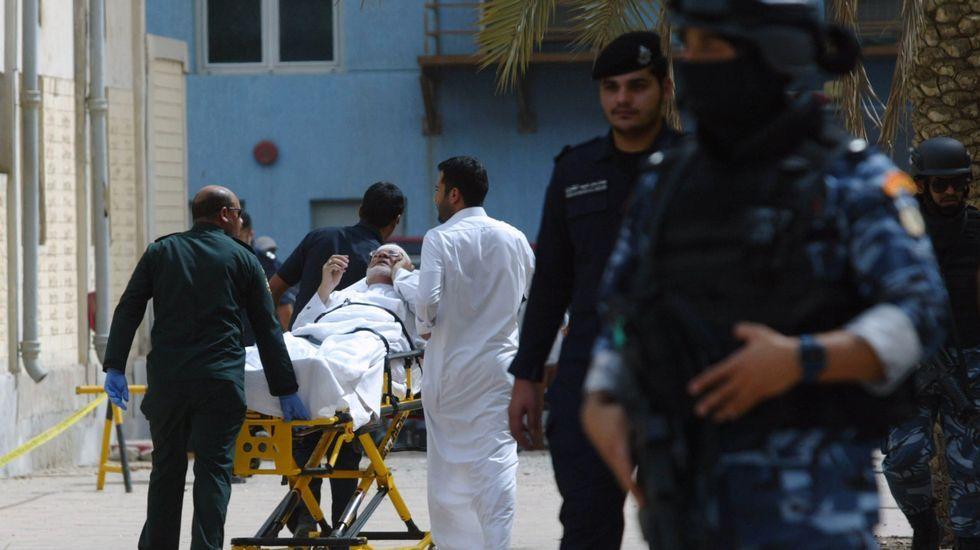 El atentado tuvo lugar en la mezquita Imán al Sadik