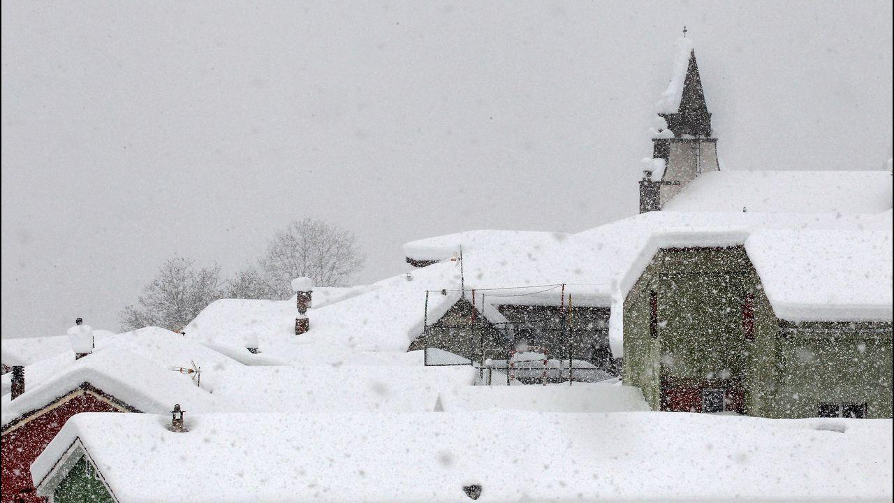 Asturias ha pedido la intervención de la Unidad Militar de Emergencias por las incidencias causadas por el temporal de nieve