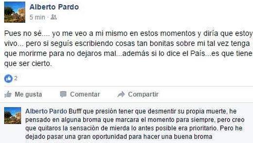 Facebook Alberto Pardo