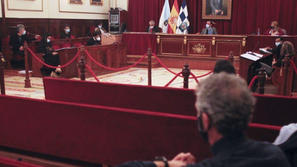 Pleno de Ferrol, en foto de archivo
