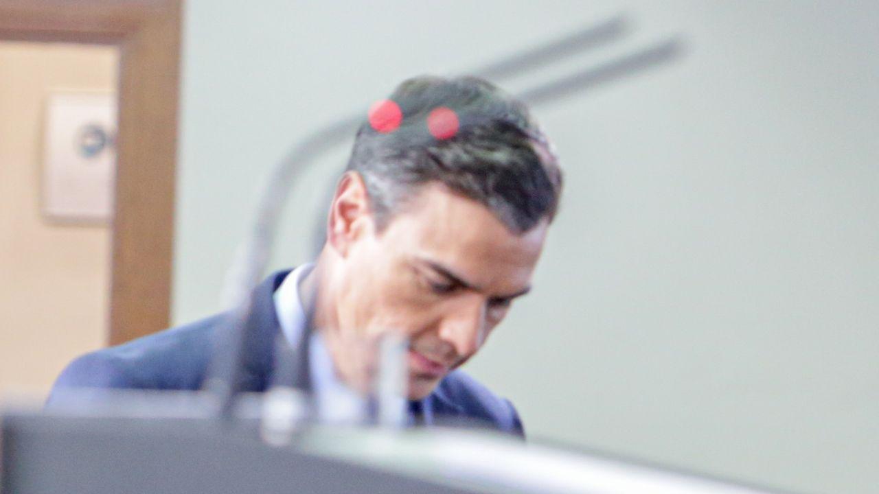 Pedro Sánchez, en la Moncloa