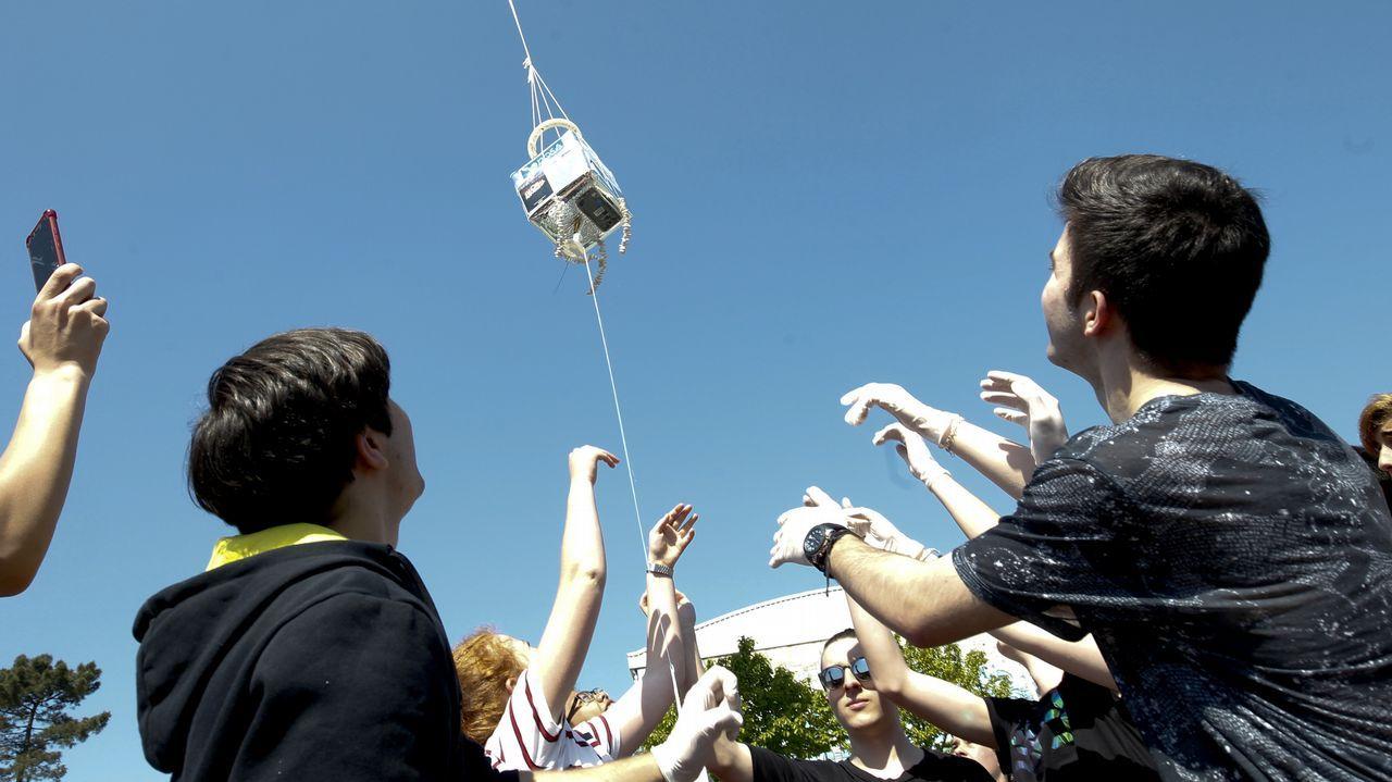 Los alumnos de la NOSA investigan si es posible crear vida en la estratosfera