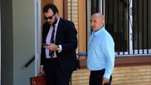 Belarmino Álvarez, a la derecha. /LA VOZ DEL TRUBIA