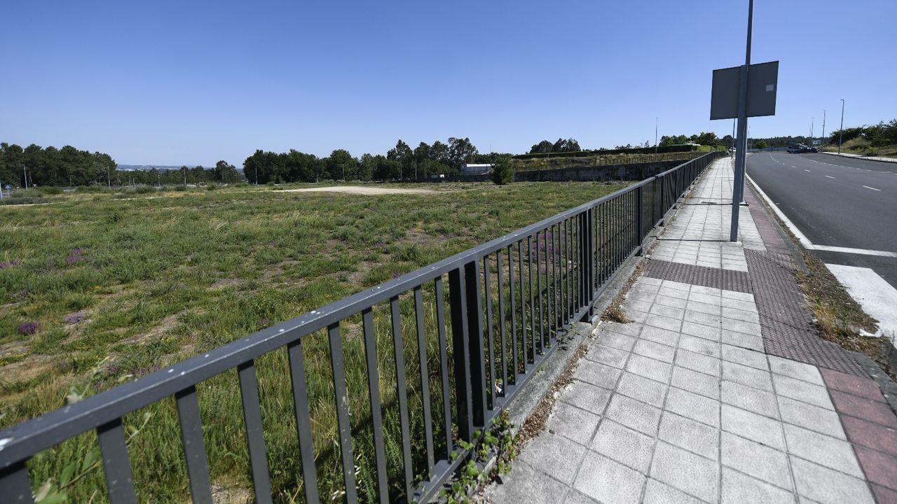 Parcela donde se ubicará la fábrica de Nudesa