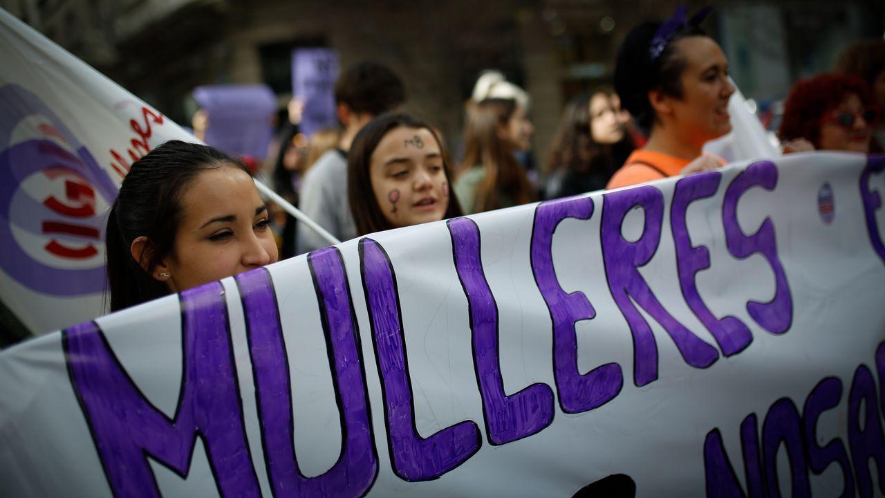 Manifestación en A Coruña
