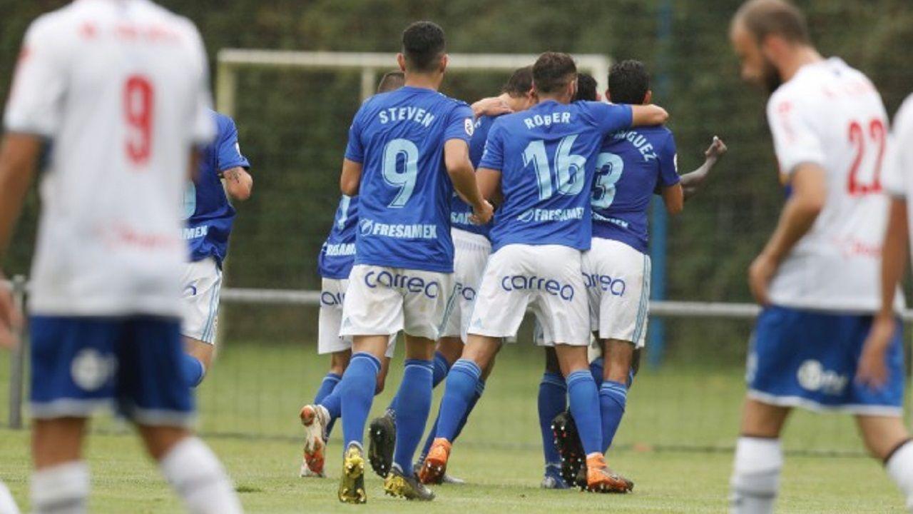 Vetusta Langreo gol.Emilio Cañedo en El Requexón