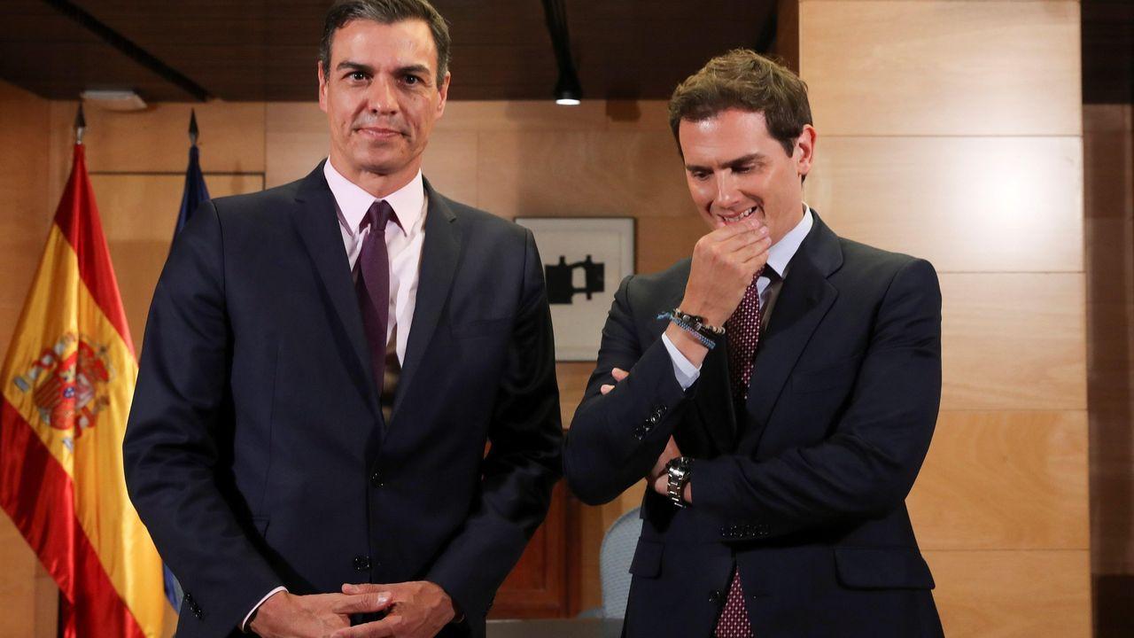 Pedro Sánchez, en la ronda de contractos con el rey de cara a la invesidura