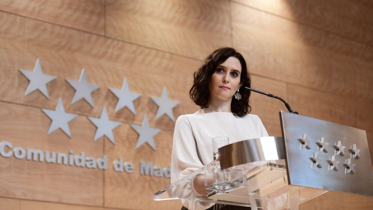 La gala de regreso de «OT 2020», en fotos.Isabel Díaz Ayuso, presidenta de la Comunidad de Madrid