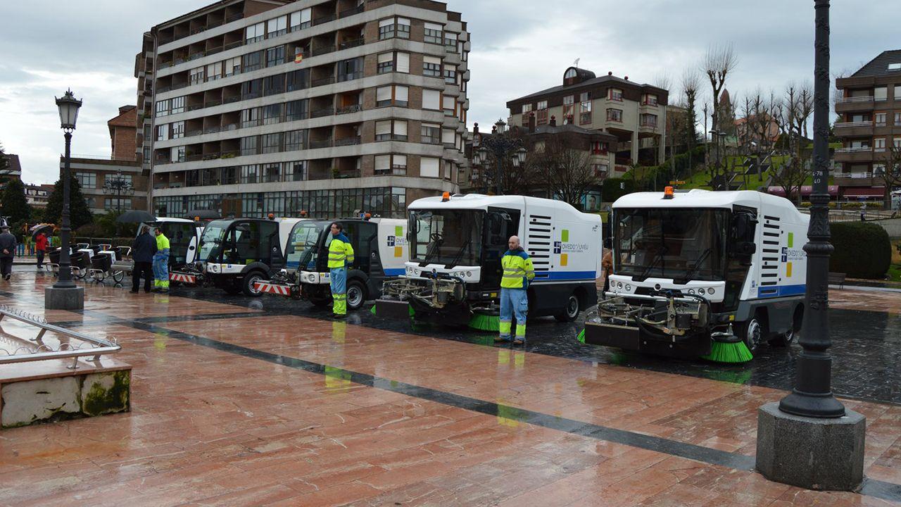 Nuevos equipos de limpieza de Oviedo