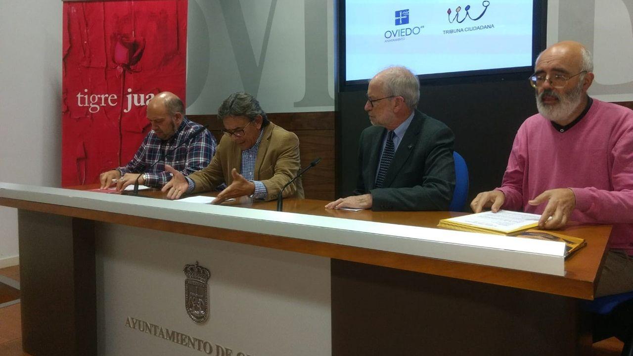 Presentación de los finalistas del premio Tigre Juan